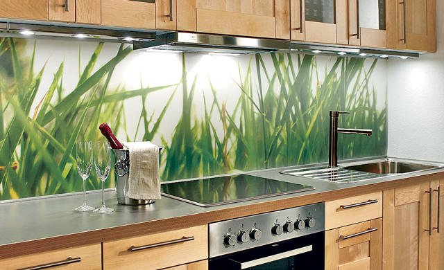 küchenrückwand | selbst.de - Wandverkleidung Küche Kunststoff