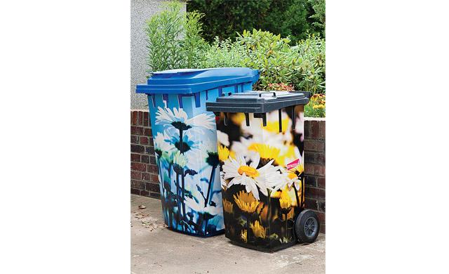 Mülltonnenverkleidung