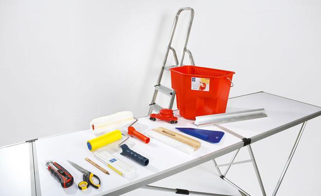Für Gute Arbeitsergebnisse Beim Tapezieren Sorgt Ordentliches Werkzeug: