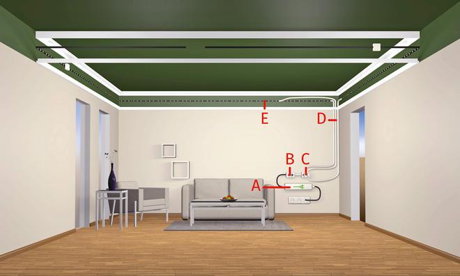 Ausgezeichnet Led Lichtleiste Verkabelung Bilder - Elektrische ...