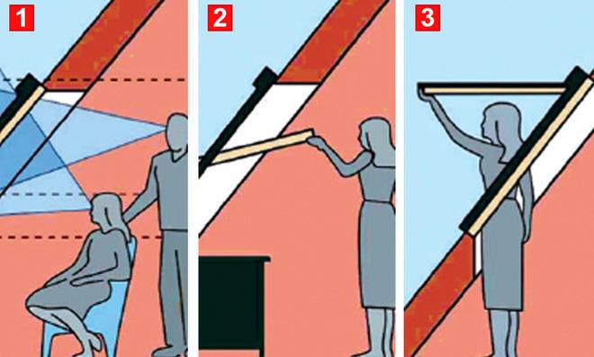 Dachfenster-Einbau