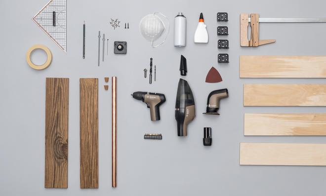 DIY-Uhr Material