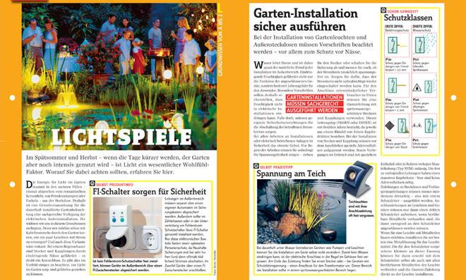 Gartenbeleuchtung planen