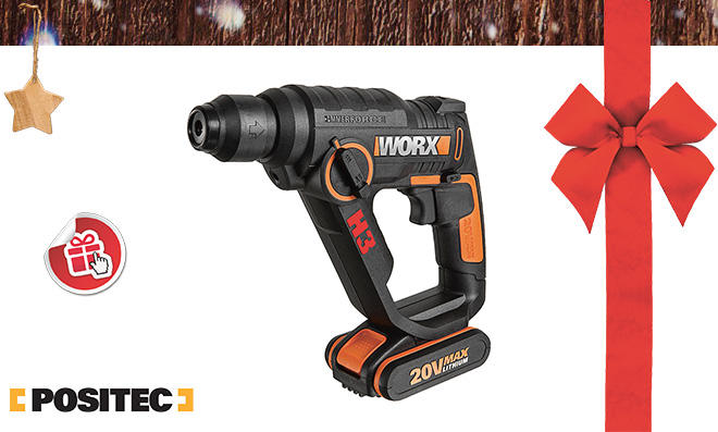 20V Akku- Bohrhammer H3 WX390.1