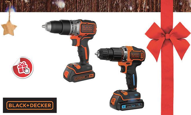 Black+Decker Akku- Bohrschrauber