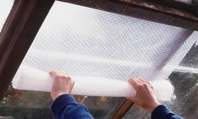 Frostschutz fürs Gewächshaus