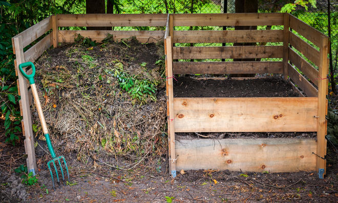 Kompost umheben