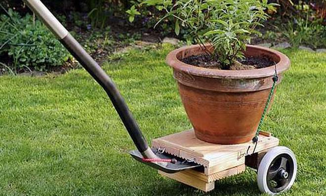 Pflanzenroller selbst bauen