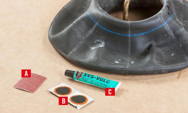 Reifen reparieren