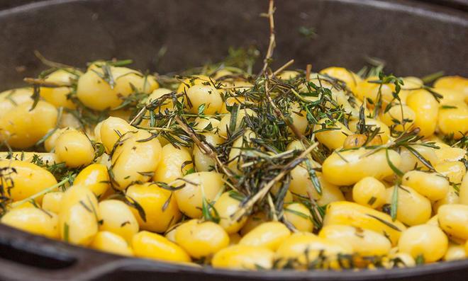 Rosmarinkartoffeln grillen