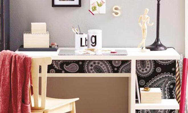 Schreibtischunterlage basteln