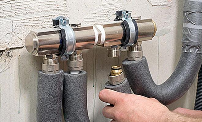 Wasserleitung verlegen
