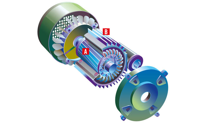 Asynchrongenerator