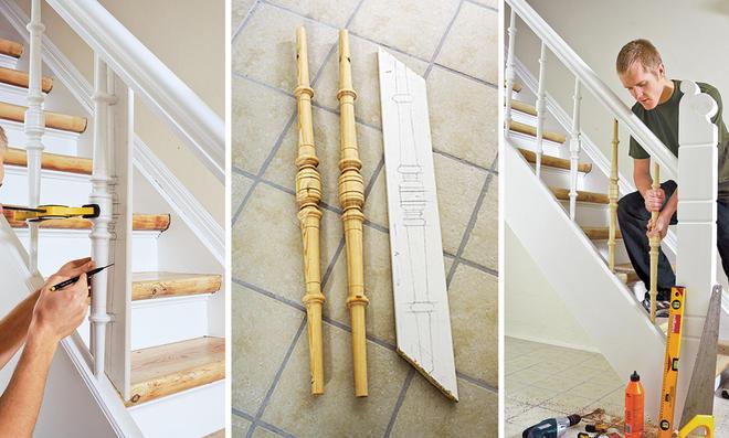 Berühmt Treppengeländer streichen   selbst.de &LM_19