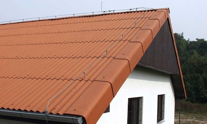 Zementfaserplatten als Dacheindeckung