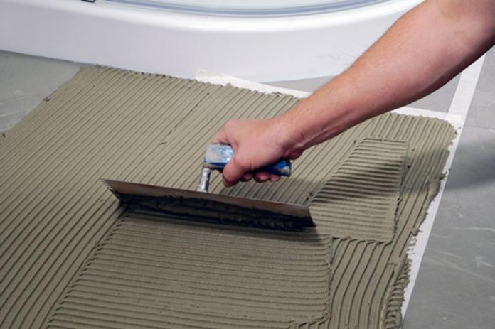 Fliesenkleber Fußbodenheizung Selbstde - Fliesenkleber auf neuen fliesen entfernen