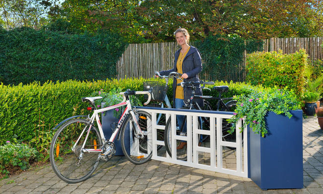 Bauanleitung Fahrradständer Holz