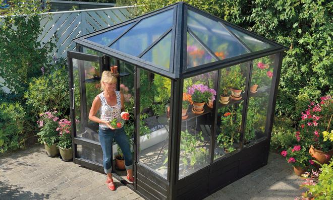 Hervorragend Glashaus | selbst.de XQ22