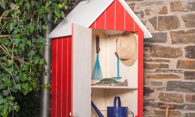 Gartenschrank Outdoor Küche : Holz gartenschrank selbst