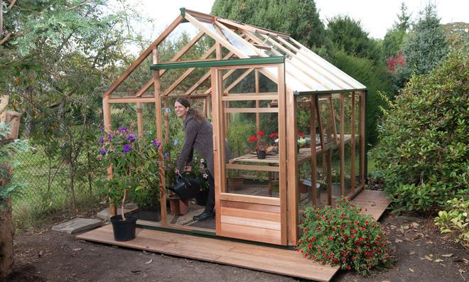 Outdoorküche Bausatz Holz : Holz gewächshaus selbst