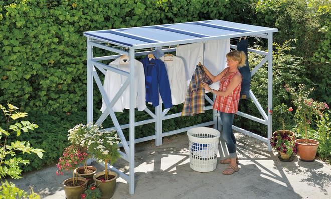 Outdoor-Wäscheständer   selbst.de