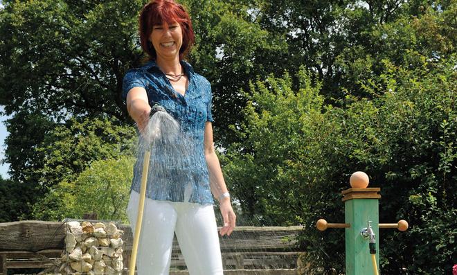 Wasserzapfstelle Für Den Garten Selbstde
