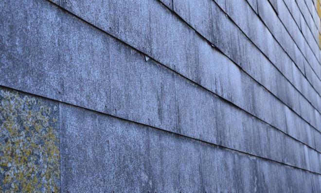 Eternitplatten als Fassadenverkleidung