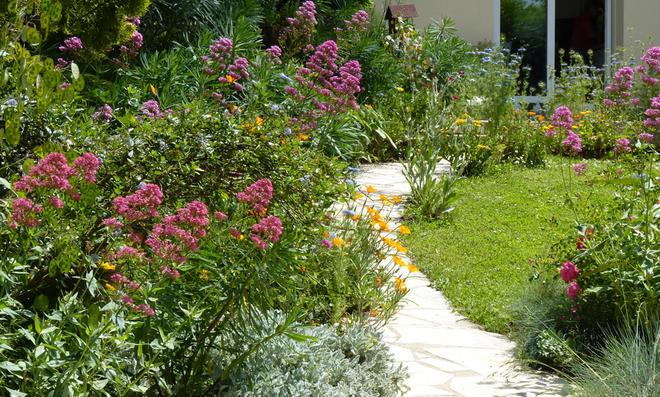 Gartenweg-Ideen