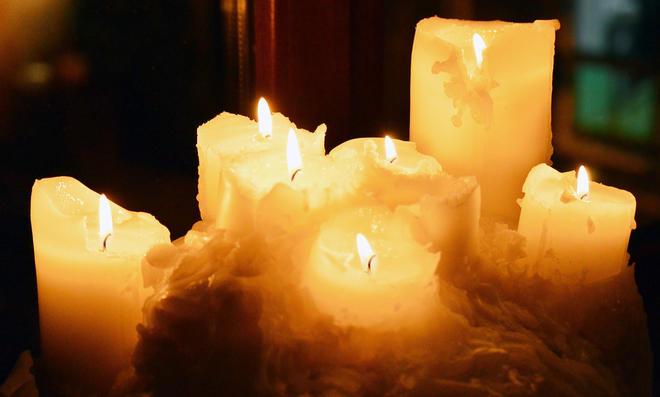 Kerze basteln