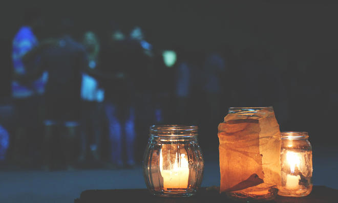 Kerzenglas Selbstde