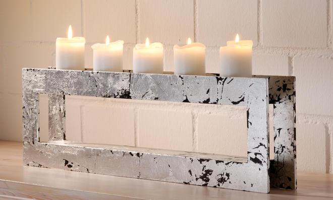 Kerzenhalter selber machen
