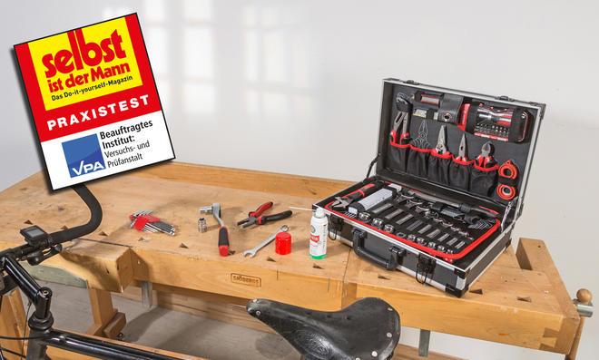Werkzeugkasten-Test