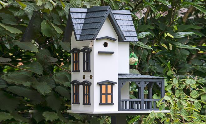 Bauplan Vogelherrenhaus