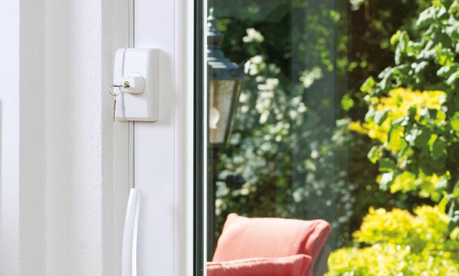Fensterschloss für Terrassentür