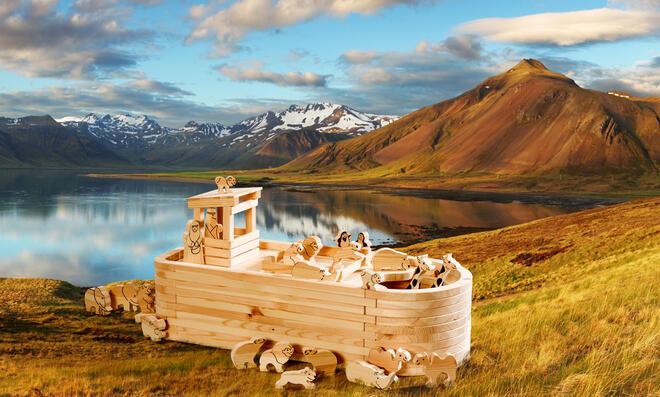 Bauplan Arche Noah