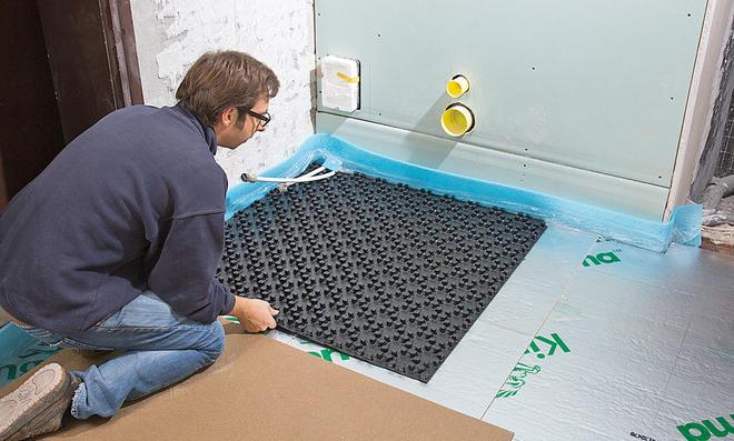 Gut bekannt Fußbodenheizung Aufbau XG03
