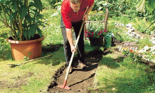 Gartenweg Anlegen Selbst De