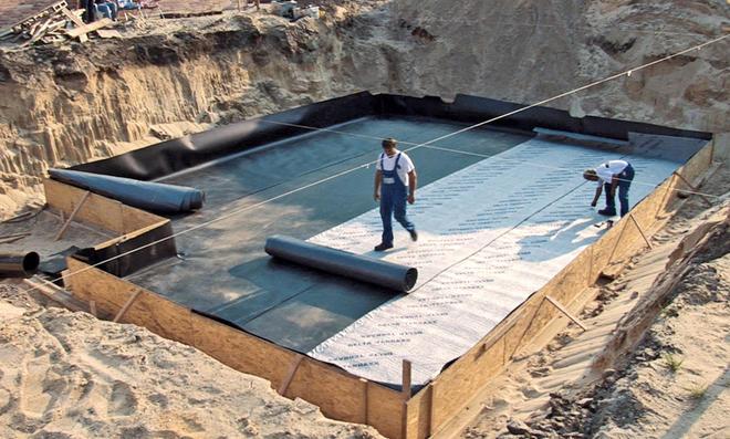Bodenplatte abdichten