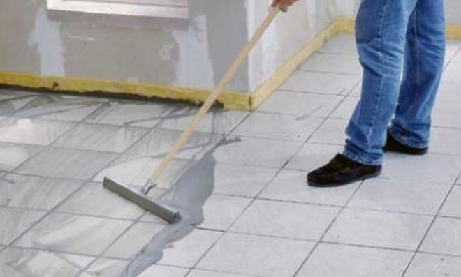 Fußboden Fliesen Polieren ~ Fugenmörtel selbst.de