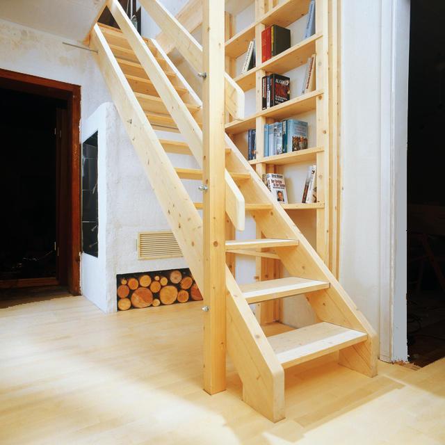 dachbodentreppe bauen. Black Bedroom Furniture Sets. Home Design Ideas