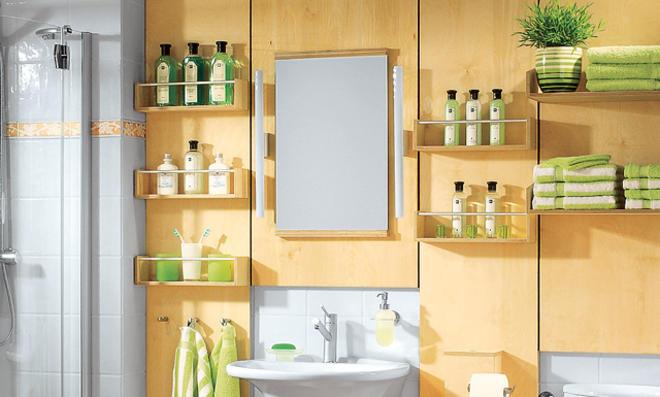 Ablage Für Badezimmer, fliesen verkleiden mit holz | selbst.de, Design ideen