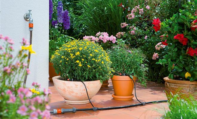Balkon-Bewässerungssystem von Gardena