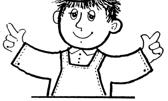 Bast'l, der kleine Heimwerker