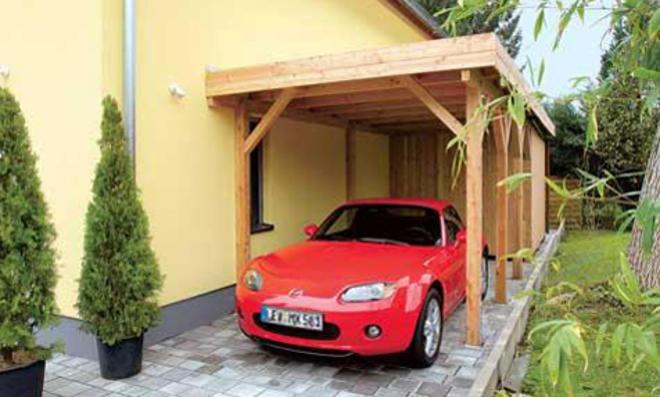 Baugenehmigung für carport selbst