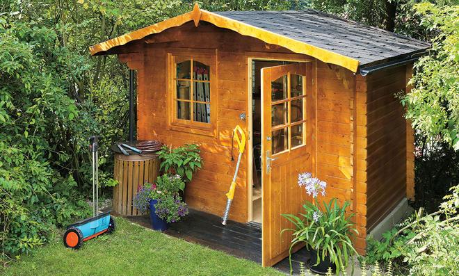 Gartenhaus Mit Outdoor Küche : Gartenhaus bauen ob modern mit pultdach oder flachdach