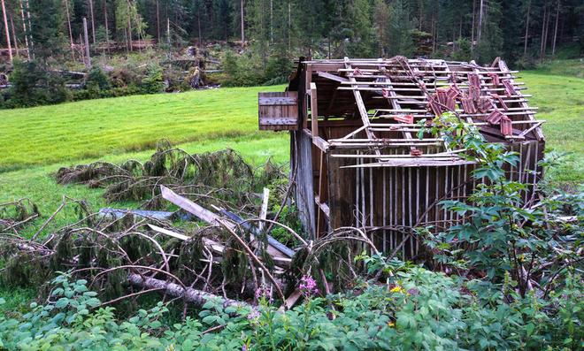 Gartenhaus Sturmsicherung