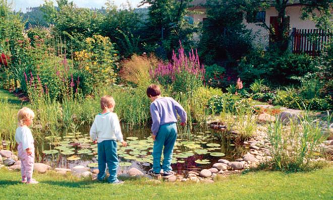 Gemeinsame Kindersicherer Gartenteich | selbst.de &BU_39