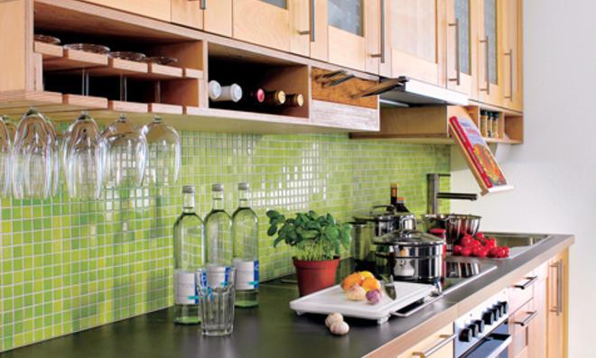 Küchenideen aus Multiplex selbst gebaut
