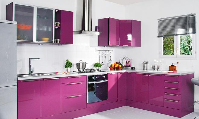 Küchenmöbel lackieren