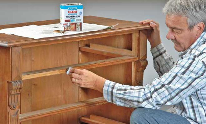 wie kann man alte mbel aufpeppen alte mbel mit neuen. Black Bedroom Furniture Sets. Home Design Ideas